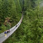 Vancouver - cau treo phia bac Canada
